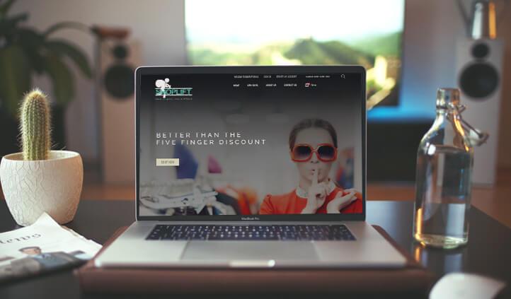web design with magento