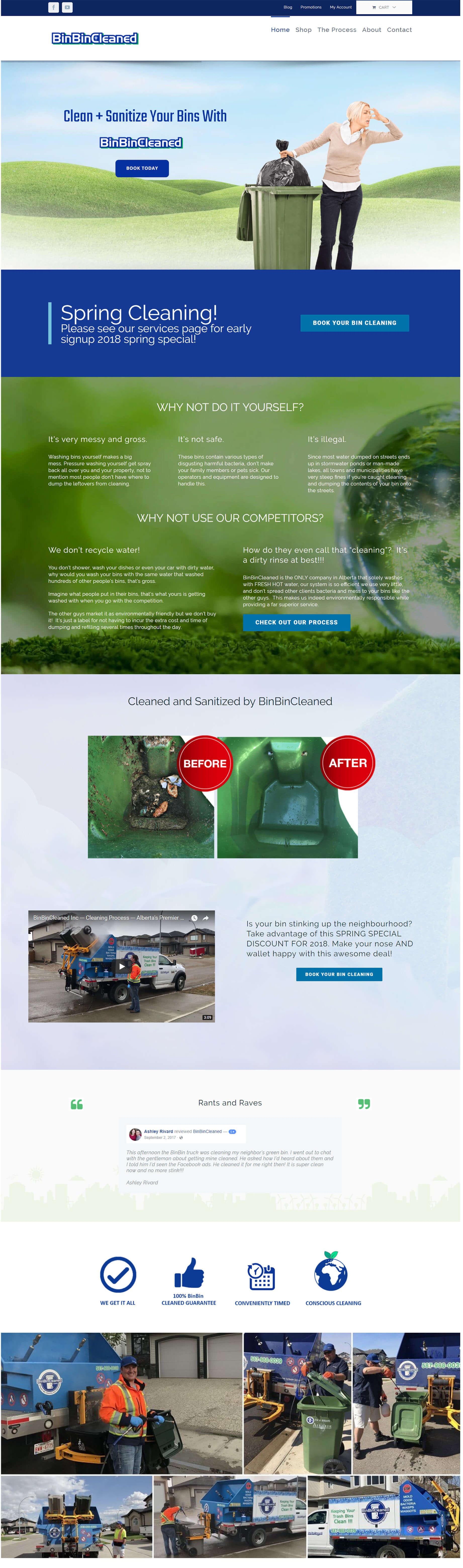websiet homepage design